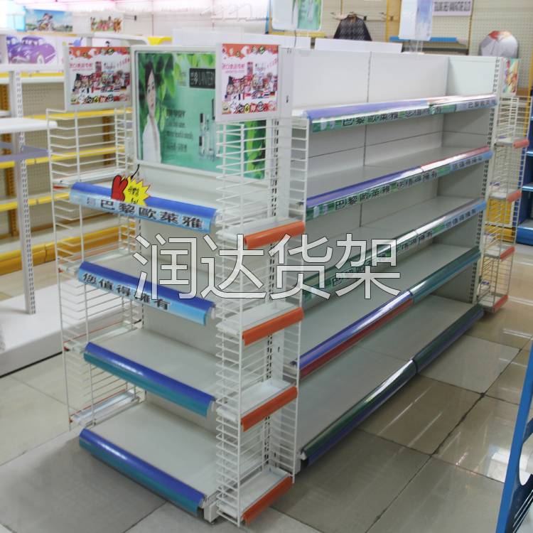 药店货架的组合方式