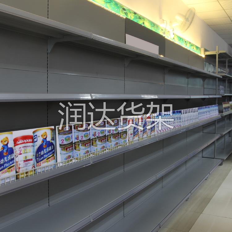 广州药店货架茗品汇实例